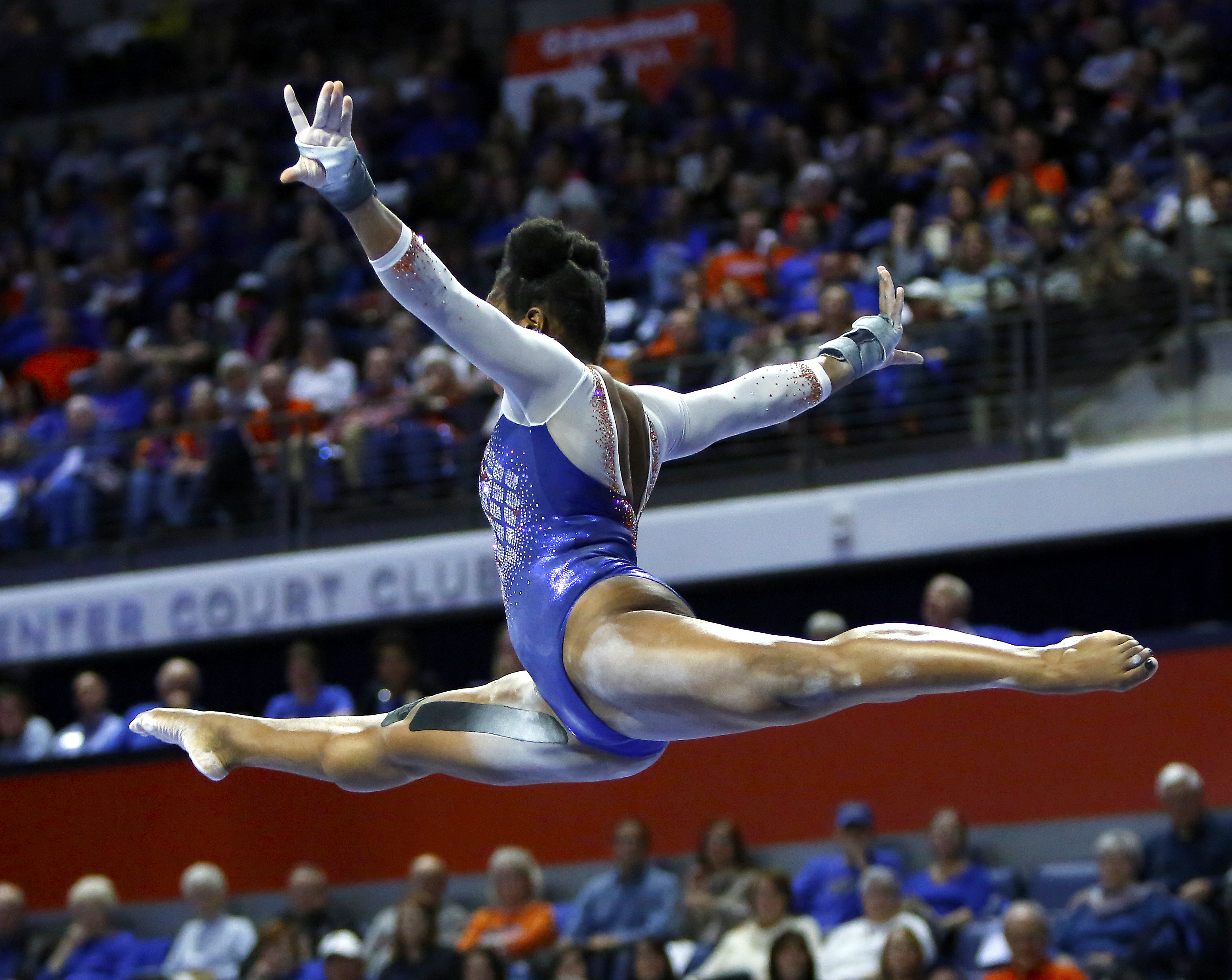 Top results all around for UF gymnastics team in win over ...